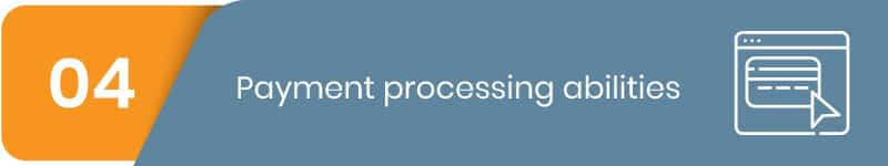 Can you process payments through your parks management software?