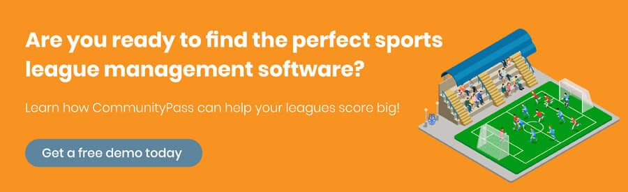 Let CommunityPass show you what you can do with their sports league management demo.