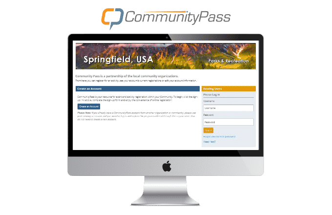 CommunityPass's recreation management software provides an intuitive platform for anyone to use.