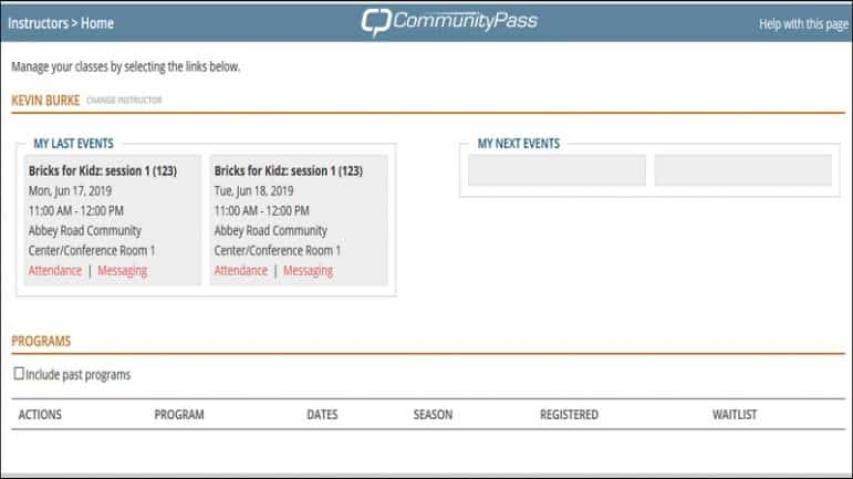 Learn how CommunityPass' Instructor site tool can help your parks and recreation efforts for COVID-19.