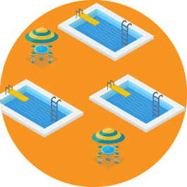 Make sure you can handle multiple facilities with your pool membership software.