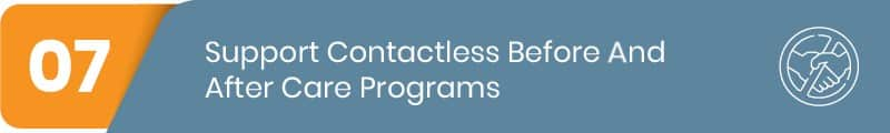Learn how your afterschool, registration software can support a contactless before and aftercare program.